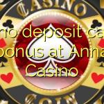 120 no deposit casino bonus at Anna Casino