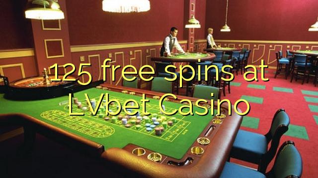 125 free spins at LVbet Casino