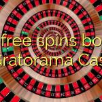 125 free spins bonus at Gratorama Casino