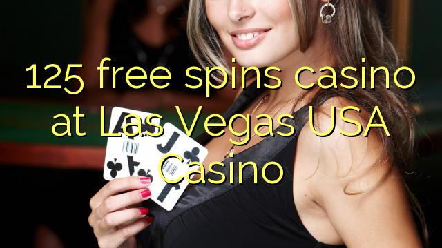 125 spins bébas kasino di Las Vegas AS Kasino