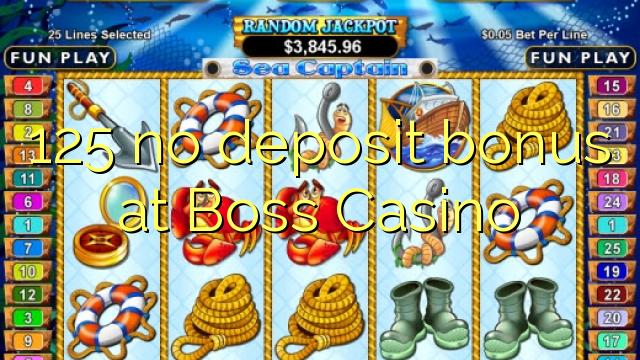 125 нест бонус амонатии дар Boss Казино