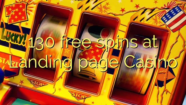 130 free spins på målsidan Casino