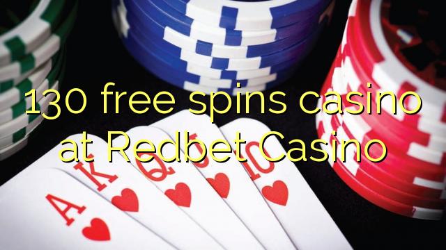 130 pulsuz Redbet Casino casino spins