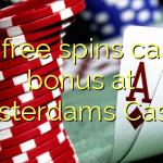 130 free spins casino bonus at Amsterdams  Casino
