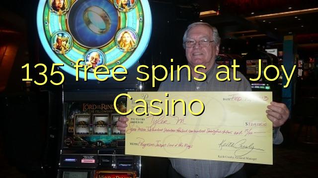 135 gratis spanne by Joy Casino