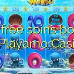 135 free spins bonus at Playamo Casino