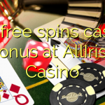 135 free spins casino bonus at AllIrish Casino