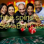 140 free spins casino at SekaBet Casino