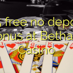145 free no deposit bonus at Bethard Casino