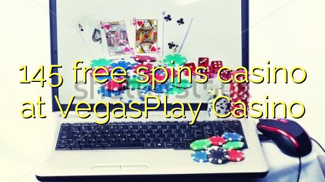 145 bébas spins kasino di VegasPlay Kasino