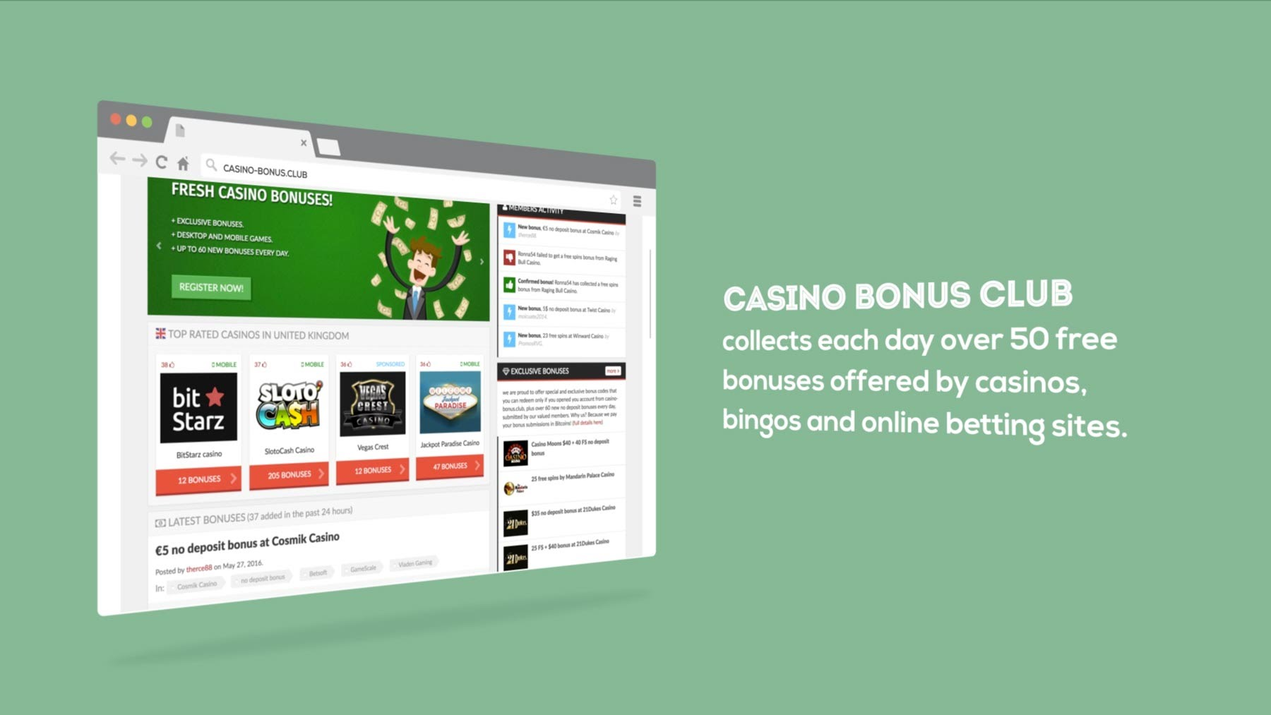 Casino Promotions - Join Online