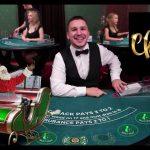 Live Blackjack Dealer vs £2,000 Real Money Play at Mr Green Online Casino