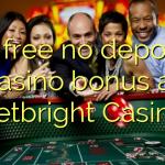 15 free no deposit casino bonus at Betbright Casino