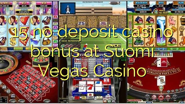 No deposit bonus casino suomi