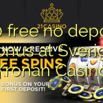 150 free no deposit bonus at Sverige Kronan Casino