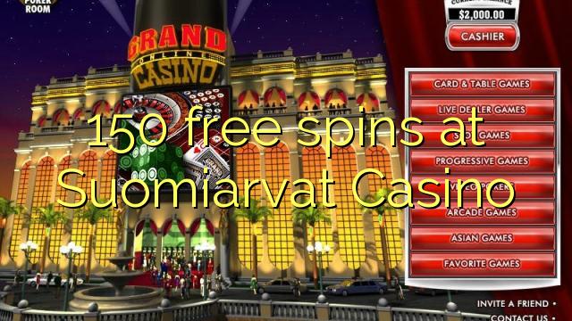 150 free spins online casino