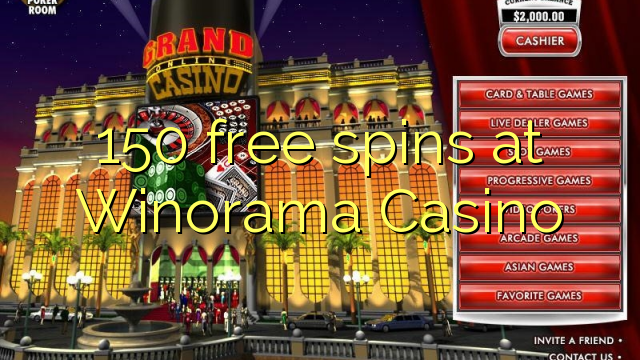 150 gratis spanne by Winorama Casino