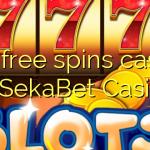 150 free spins casino at SekaBet Casino