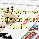 155 free spins casino bonus at Hertat Casino