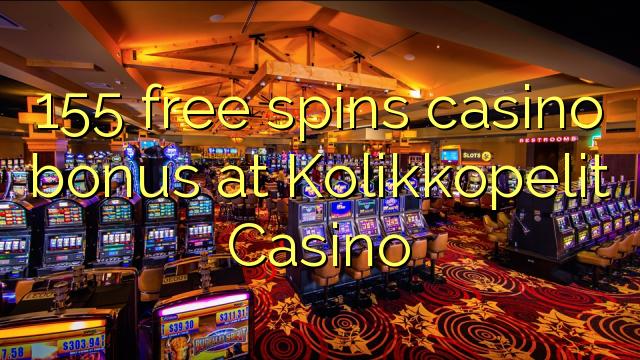 155自由はKolikkopelitカジノでカジノのボーナスを回転させます