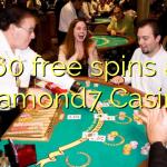 160 free spins at Diamond7 Casino