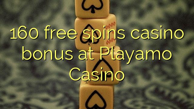 160 मुक्त Playamo कैसीनो में कैसीनो बोनस spins