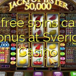 160 free spins casino bonus at Sverige  Casino