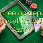 165 free no deposit bonus at GoldClub  Casino