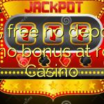 165 free no deposit casino bonus at room Casino