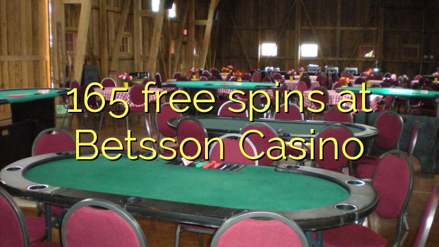 165 spiny v Betsson kasinu zdarma
