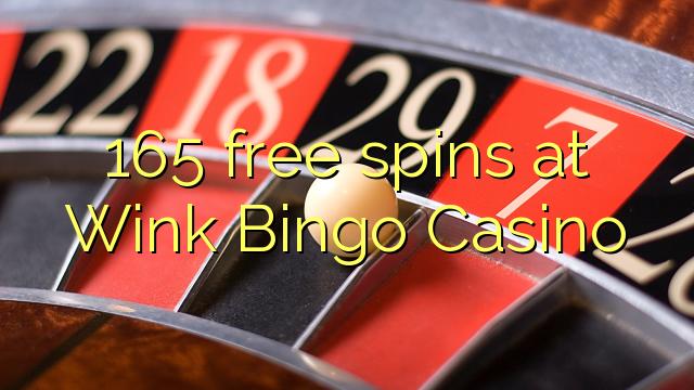 165 gratis spinn på Wink Bingo Casino