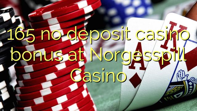 165 tidak memiliki bonus deposit kasino di Norgesspill Casino