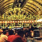 170 free no deposit bonus at Star Casino