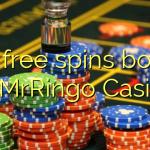 170 free spins bonus at MrRingo Casino