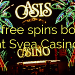 170 free spins bonus at Svea  Casino