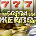 170 free spins casino at 24hBet Casino