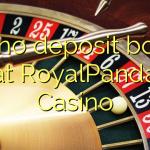 170 no deposit bonus at RoyalPanda Casino