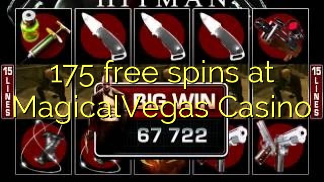 175 bebas berputar di MagicalVegas Casino