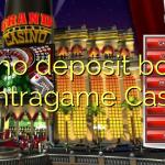 175 no deposit bonus at Intragame Casino