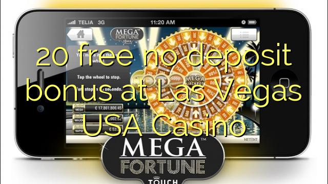 20 membebaskan ada bonus Brankas di Las Vegas USA Casino