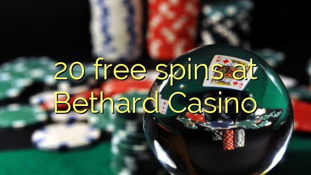 20 spins bébas dina Bethard Kasino