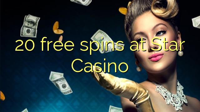 20 rodadas grátis no Star Casino