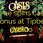 20 free spins casino bonus at Tipbet Casino