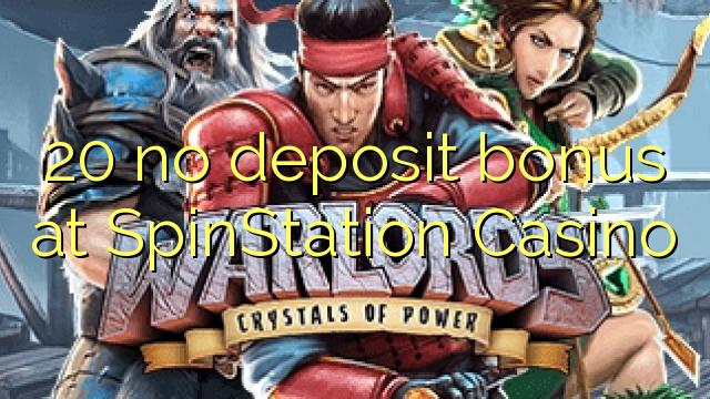 20 bono sin depósito en Casino SpinStation