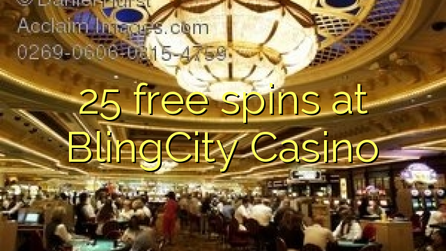 25 gratis spins hos BlingCity Casino
