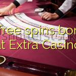 25 free spins bonus at Extra Casino