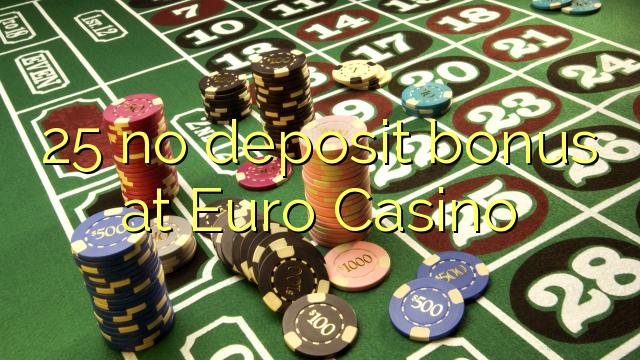 25 euro online casino