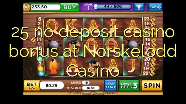 25 Norskelodd Casino heç bir depozit casino bonus