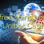 30 free spins bonus at Unibet Casino