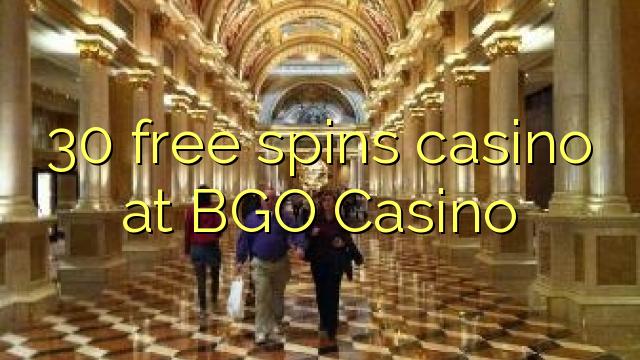 30 pulsuz BGO Casino casino spins